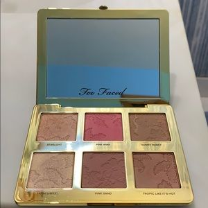 Too Faced Natural Face Palette - NEVER USED